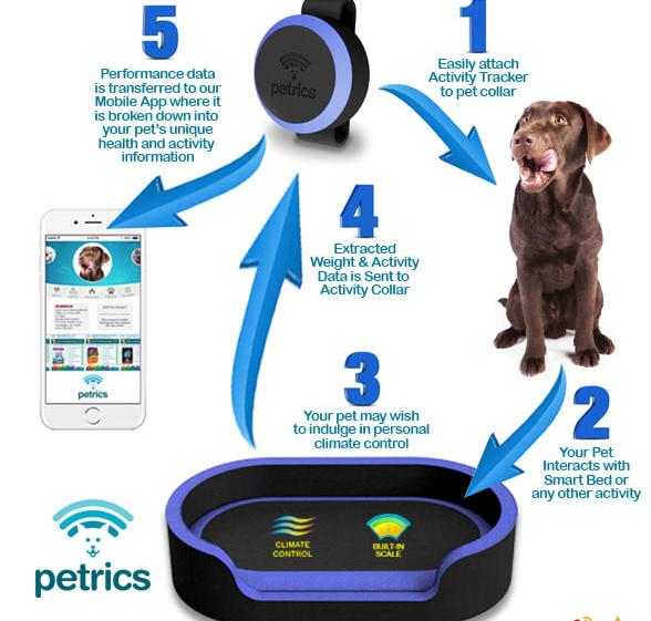 这款宠物智能床,可以监测体重还能提供食谱