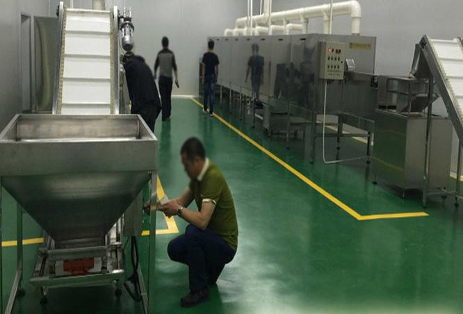 宠物食品也可以用微波进行烘干杀菌