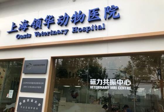 上海领华动物医院核磁特色全科中心